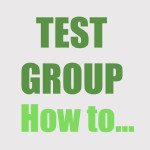 Group logo of Test Group - How to...